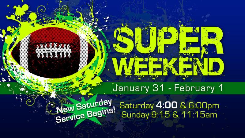 Super Weekend slide