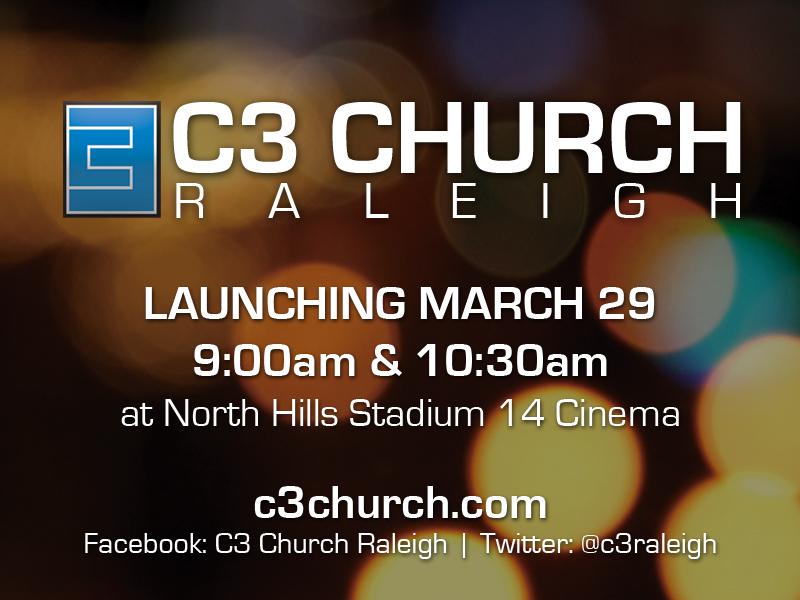 Raleigh Launch slide (4x3)