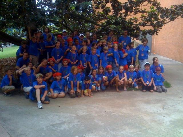 Group Camp Kidjam'09